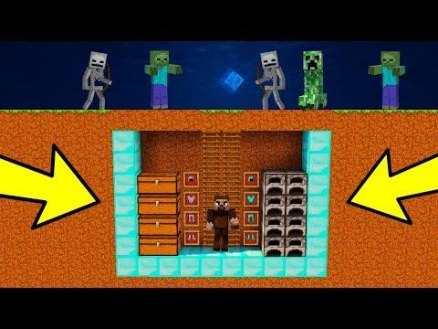 ZENGİN VS FAKİR #106 - En Gizemli Ev (Minecraft)