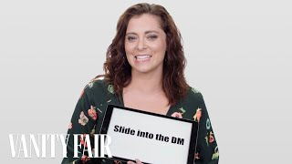 Crazy Ex-Girlfriend's Rachel Bloom Teaches You Dating Slang | Vanity Fair