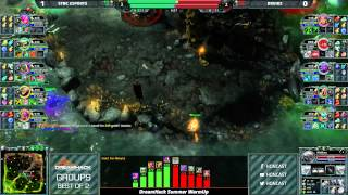 DHS WarmUp Groups - Sync vs DRz game 2
