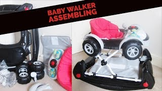 Baby Walker Assembing of MyChild Coupe 2 In 1 Baby Waker And Rocker