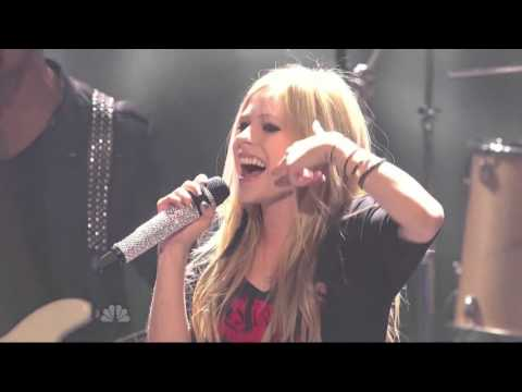 Avril Lavigne - Smile (One Of The Best Live)