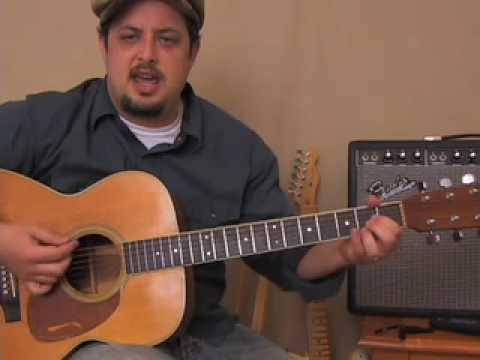 Johnny Cash -  Inspired - Easy  Beginner Song Acoustic Guitar Lesson