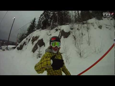 TTR Oakley Arctic Challenge 2011- Check the Course with Sage Kotsenburg