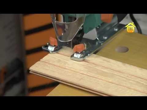 Как работать с электролобзиком