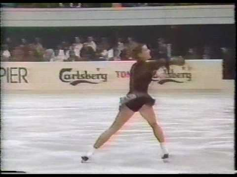 Katarina Witt (GDR) - 1983 World Figure Skating Championships, Ladies' Long Program