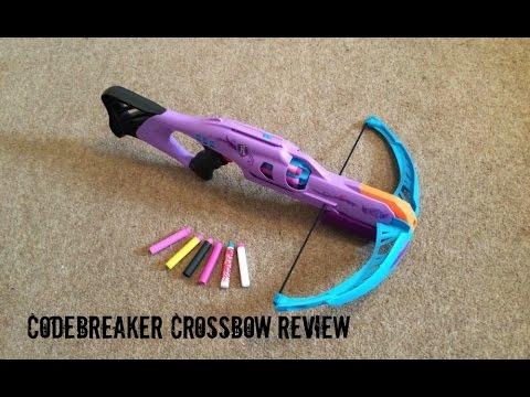 Nerf Rebelle Secrets & Spies CodeBreaker Crossbow Unboxing. Review & Range Test