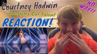Download Lagu Courtney Hadwin: 13-Year-Old Golden Buzzer Winning Performance REACTION! Gratis STAFABAND