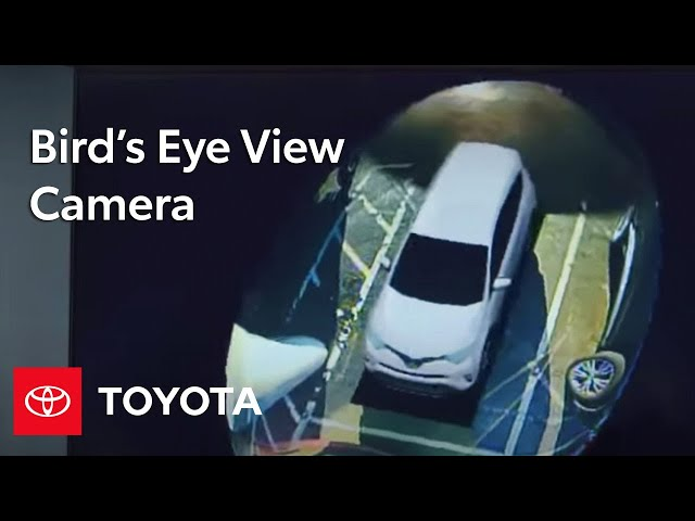 Toyota How-To: Bird's Eye View Camera with Perimeter Scan ...