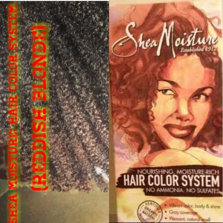 Shea Moisture Hair Color System Reddish Blonde Youtube