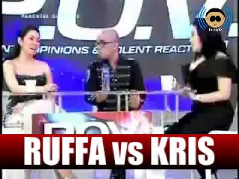 Ruffa Gutierrez vs Kris Aquino on the Buzz w/ Boy Abunda & Annabelle Rama Re