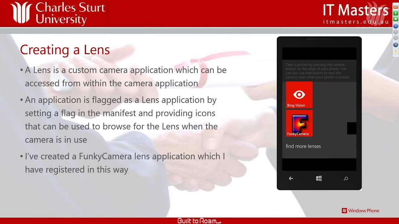 Developing Applications for Windows Phone 8 (Short Course ...