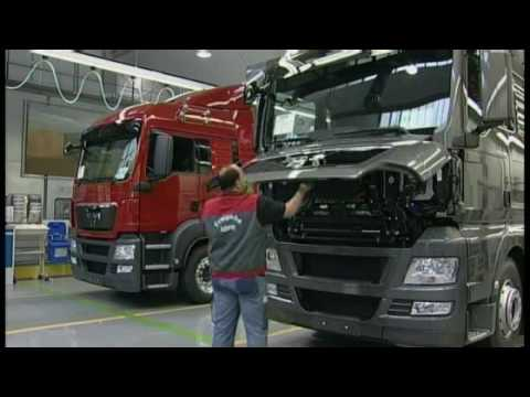 MAN Truck Factory in Munich 2 (MAN Mnih Fabrikas)