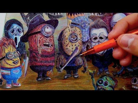 If Minions were Horror Movie Villains