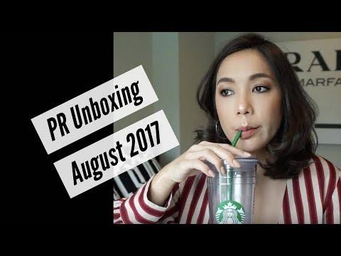 DAILYCHERIE : PR Unboxing: ของใหม่เดือนสิงหาคม 2017
