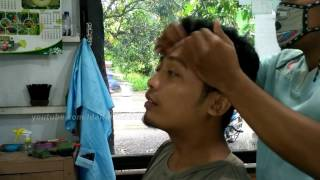 BM Barber, Back and Head Massage Barber Indian Style - ASMR Video