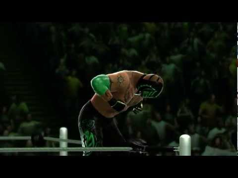 Rey Mysterio makes his entrance in WWE 13 (Official)