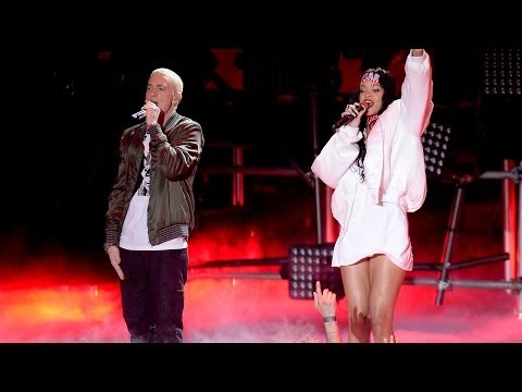 Rihanna & Eminem the Monster Performance Rocks 2014 Mtv Movie Awards video