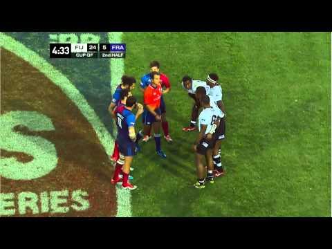 Cup Quarters Fiji v France Las Vegas 2015