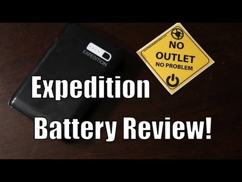 No Outlet, No Problem Expedition Portable Battery Review!