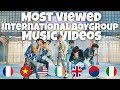 Most Viewed International Boy Group Music Videos of All Time thumbnail