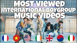 Most Viewed International Boy Group Music Videos of All Time