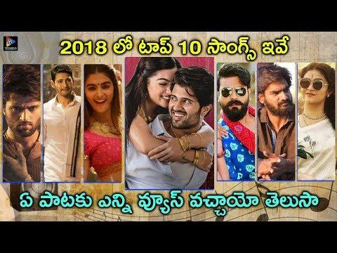 List Of Top 10 Songs From 2018 Cinemas || Tollywood Movies || Telugu Full Screen