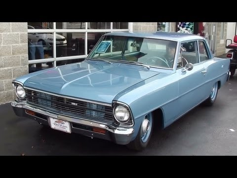 Wicked Sounding 1966 Chevy II Nova 468 Big-block V8 Monster