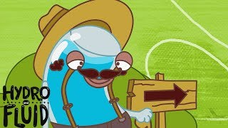 HYDRO and FLUID | The Travel Master | HD Full Episodes | Funny Cartoons for Children