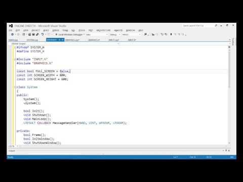 Como Crear un Engine DirectX 11 Tutorial 2