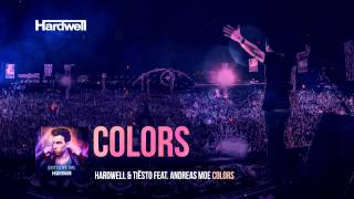 Hardwell & Tiesto feat. Andreas Moe - Colors (Lyric Video)