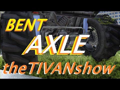 GTA 5 - BENT AXLE racing - by TAZ MANIAX