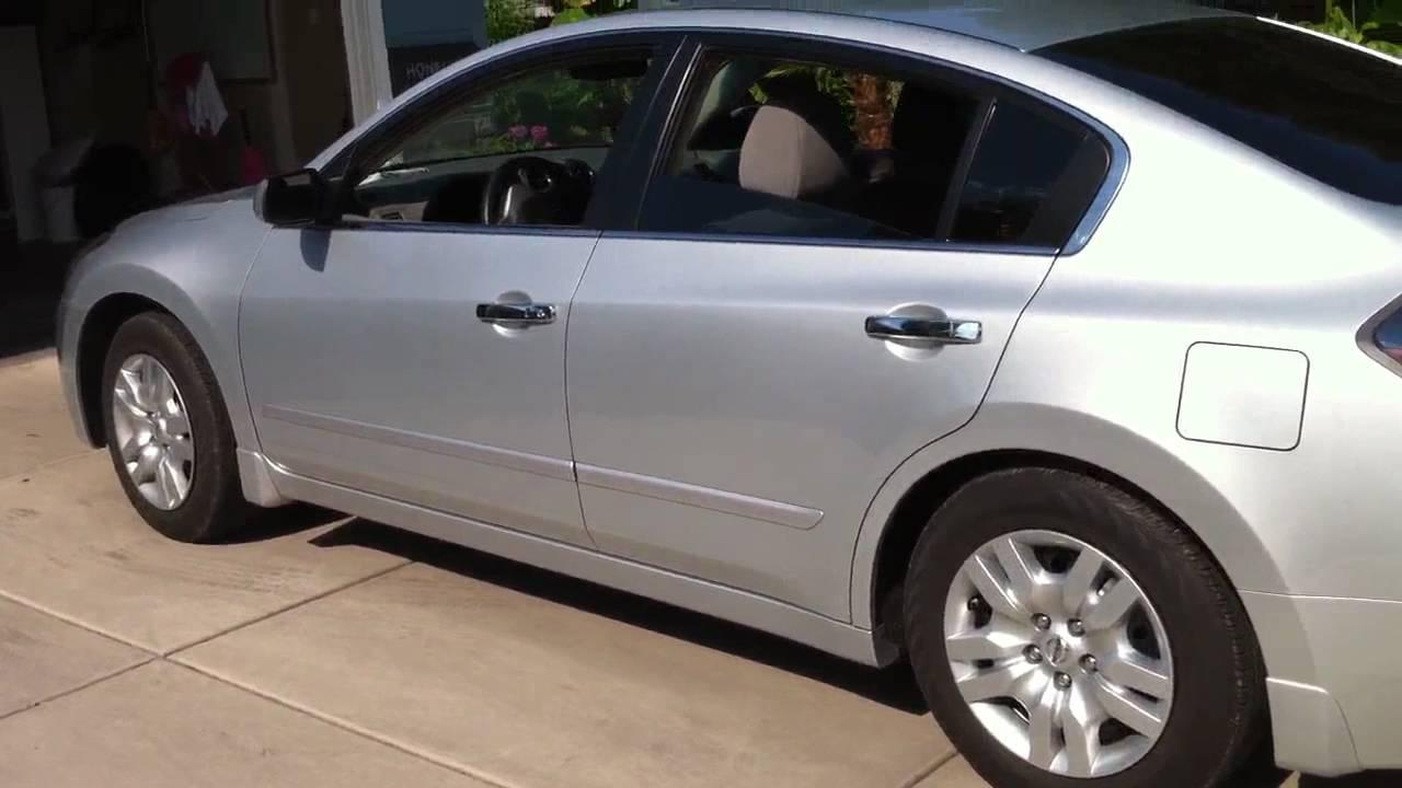2 Door Altima >> Nissan Altima SES Chrome Door Handles Work In Progress Part 4 - YouTube