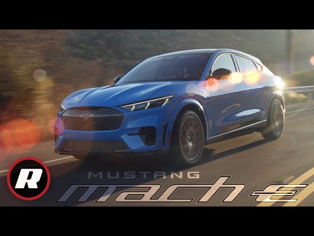 2021 Ford Mustang Mach E: Ford's electric Mustang Mach-E revealed thumbnail