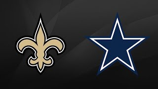 New Orleans Saints vs Dallas Cowboys Week 13 Thursday Night Football Highlights (11/29/18)