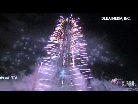 CNN -  New Year celebrations Around the world 2011/ Fireworks Display