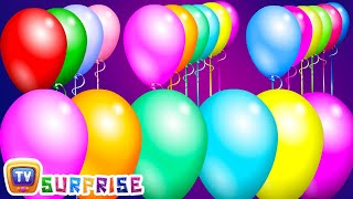 Surprise Eggs Funny Balloons Popping Show for LEARNING NUMBERS – Learn To Count 1 to 10 | ChuChu TV