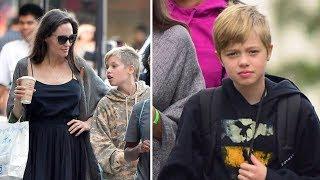 Angelina Jolie & Brad Pitt's Daughter Shiloh Jolie Pitt 2017