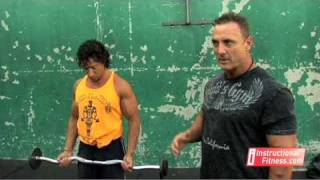 Instructional Fitness - Drag Curls