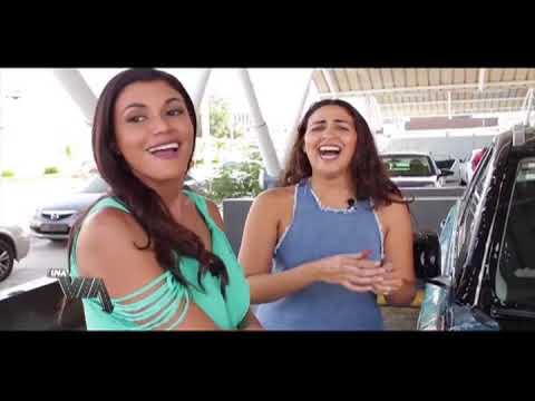 Evelyna Rodríguez Con Karla Fatule en el Carwash (1)