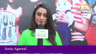 Sonia Agarwal At Agalya Movie Launch