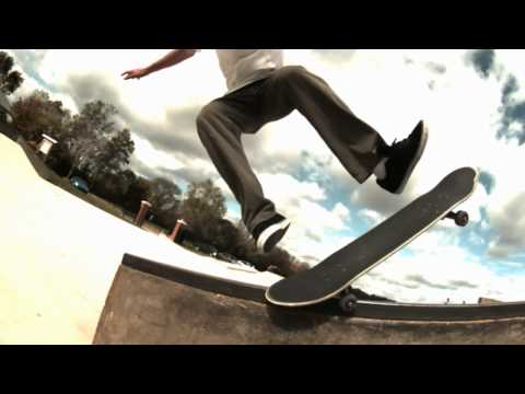 Slow motion skateboarding 20