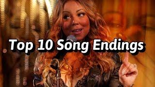 Top 10 Mariah Carey Song Endings