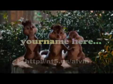 Alvin And Chipmunks - Happy Birthday Gig video