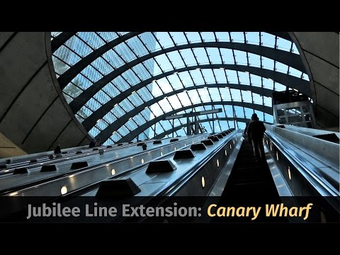Jubilee Line Extension, Part 3: Canary Wharf Station