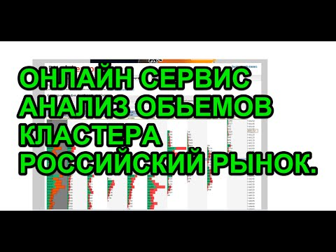 Онлайн сервис, анализ обьемов, кластера, горизонтальный обьемы, Российский рынок!