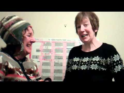 Maggie and Sue's New Year message 2012