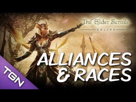  Elder Scrolls Online : Alliances and Races