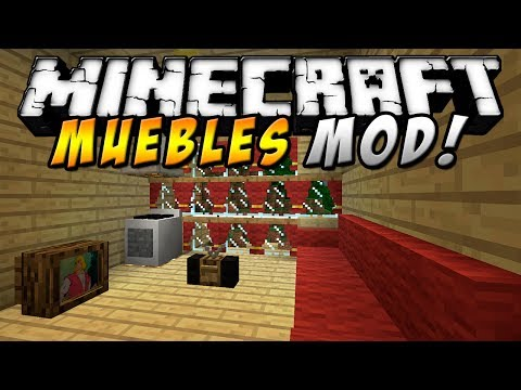 Minecraft - Muebles MOD (Timbre. Radio. T.V. PC & más!) - ESPAÑOL TUTORIAL