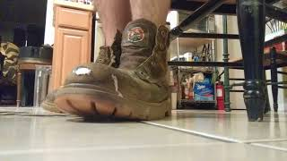 Awesome Well Worn Red Wing Irish Setter Work Boots