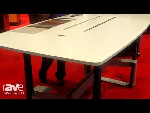 InfoComm 2014: VFI Shows its QUAD Electric Lift Table